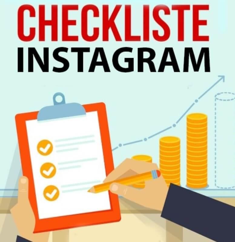 Checkliste für Instagram