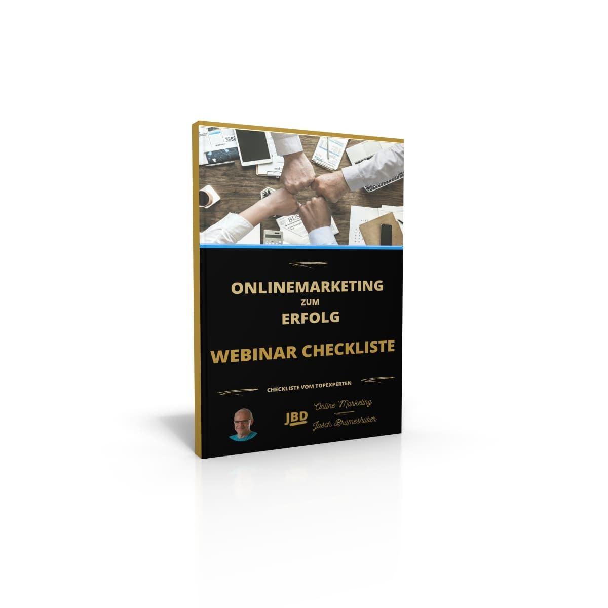Cover Webinar CheckListe mit Foto