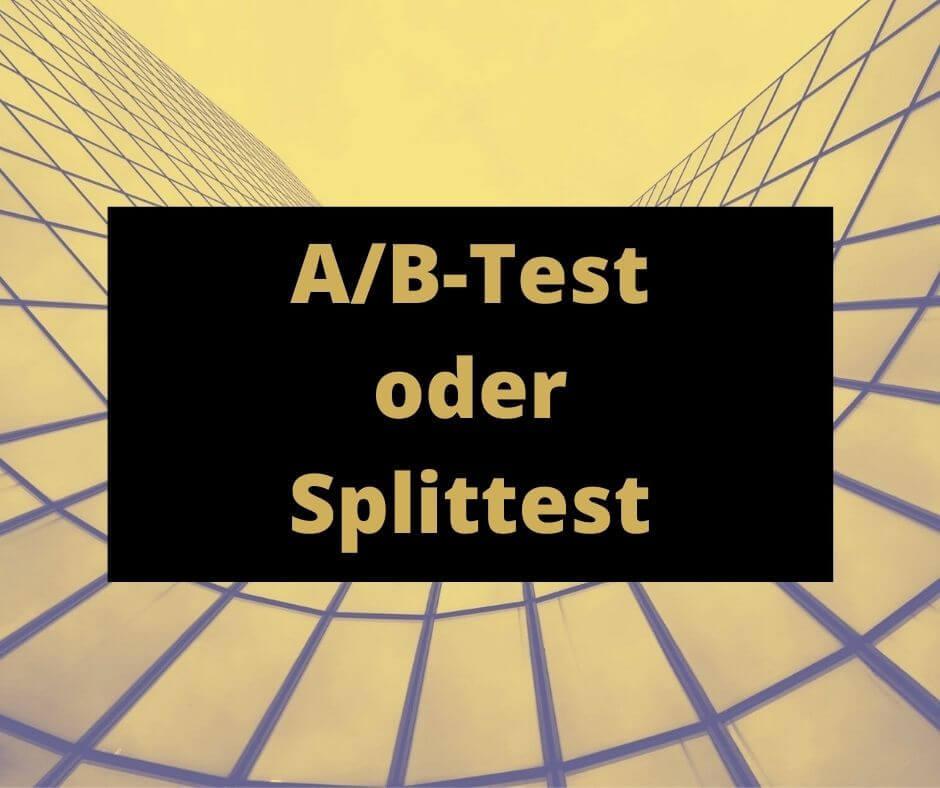 Bild A/B Splittest