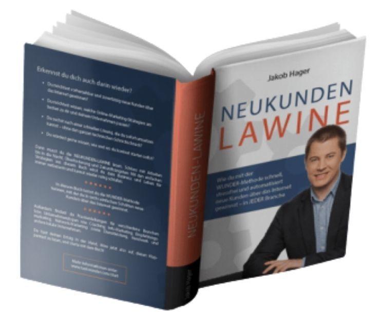 Buch Cover Die Neukunden Lawine