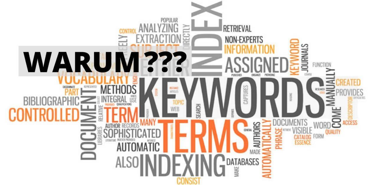 Warum Keyword Analyse und viele Wörter auf dem Foto